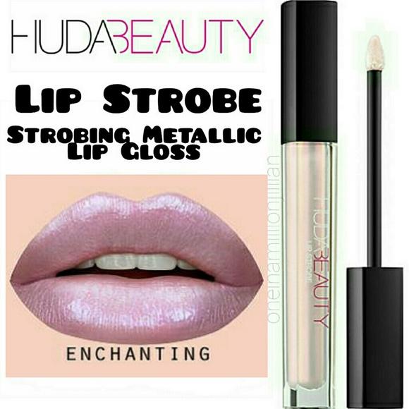 HUDA BEAUTY Other - Huda Beauty Lip Strobe Metallic Lip Gloss